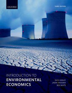 Introduction To Environmental Economics Ebook Rental Economics