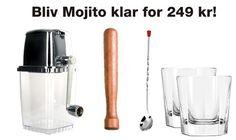 Til alle os der elsker Mojito!!  Mojito kit / mojito cocktail kit!