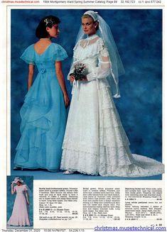 80s Fashion, Vintage Fashion, 1970s Wedding, Vintage Bridal, Vintage Weddings, Montgomery Ward, Christmas Catalogs, Girls Be Like, Wedding Suits