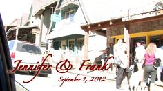 On of my most favorite wedding things!  Well worth the splurge!   by Amy Nichols for Jennifer & Frank ~ September 1, 2012