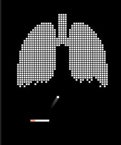 Very relatable ad as we are quite familiar with the game. With every puff, you are destroying your lungs