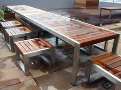 SKOP Table for public areas by Factory Furniture