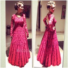 Bridal cocktail couture gown Indian Gowns, Cocktail Gowns, Designer Dresses, Ethnic, Couture, Suits, Bridal, Clothes For Women, How To Wear