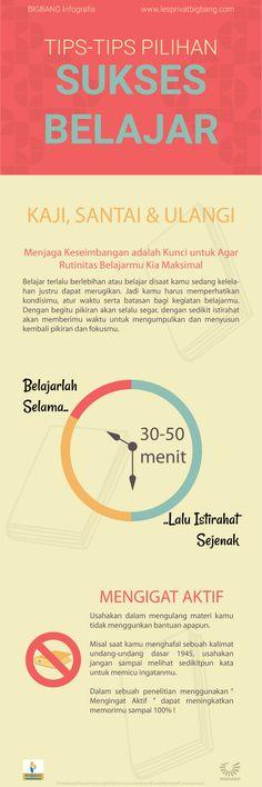 Tips Belajar Sukses Infografis Study Motivation Quotes, Study Quotes, School Motivation, Life Quotes, Qoutes, Reminder Quotes, Self Reminder, School Study Tips, Study Methods