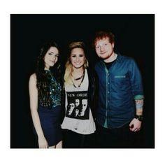 Camila Cabello, Demi Lovato and Ed Sheeran manip