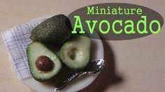 Miniature Avocado - SugarCharmShop YouTube Tutorial