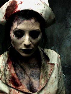 Haunted Hill Nurse Halloween