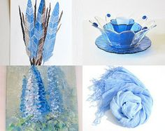 Springtime Blues. A collection of light and lovely blues perfect for spring. :)