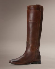 Paige Tall Riding - cognac