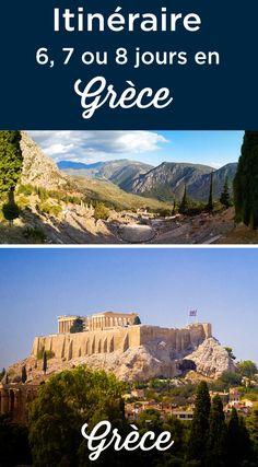 Itinéraire 6 7 8 jours en Grèce