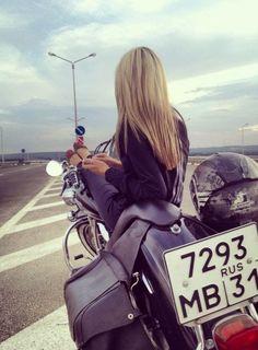 Motorcycle Girl - sin direccion! :D
