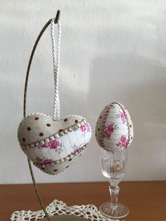 Easter egg and Heart - patchwork