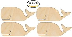 Creative Hobbies Unfinished Wood Whale Cutout Shapes Ready to Paint or Decorate 6 Inch Wide Pack of 4 * See this terrific product. (This is an affiliate link ). Fun Rainy Day Activities, Couple Crafts, Wood Square, Wood Cutouts, Unfinished Wood, Craft Sale, Amazon Art, Sewing Stores, School Projects