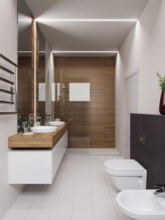 m Bathroom 10 sq.m on Behance - Marble Bathroom Dreams Bathroom Design Luxury, Modern Bathroom Design, Bathroom Designs, Luxury Homes Interior, Home Interior Design, Interior Colors, Interior Livingroom, Interior Modern, Bathroom Design Inspiration