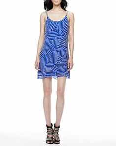 Hayden Sleeveless Sequined Dress at CUSP.