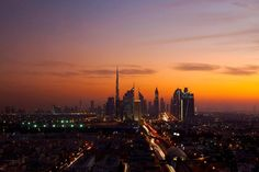...view of the downtown Dubai