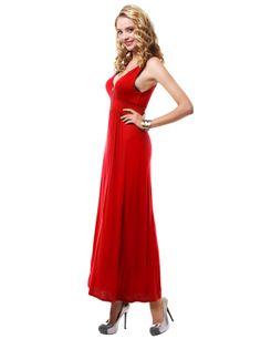 Casual Sleeveless Maxi Dress #11foxy