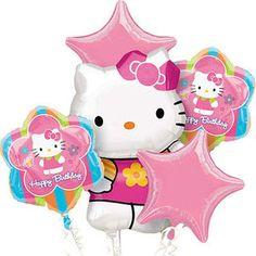 Sanrio Hello Kitty Birthday Balloons