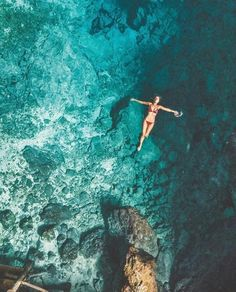 Swimming in Hoyo Azul Blue Hole Dominican Republic Clear Blue Water in Punta Cana Tropical Paradise Beach Getaways in the Islands Near North America Beach Pink, The Beach, Famous Places In France, Beach Aesthetic, Photo Couple, Tropical Beaches, Island Beach, Small Island, Photo Instagram