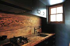 Architecture - Black, Wood Kitchen