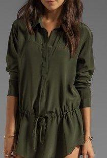 Rory Beca army tunic!  Klutch 636-220-6110