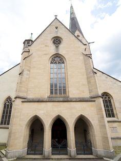 Rottweil Heilig Kreuz Münster, Gotisches Eingangsportal  Black Forest Schwarzwald