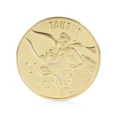 New on Possto  Gold Plated 12 co...  http://www.possto.com/products/gold-plated-12-constellation-zodiac-taurus-coin?utm_campaign=social_autopilot&utm_source=pin&utm_medium=pin