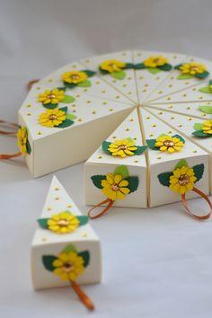 Wedding Cake Favors