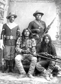 *APACHE SCOUTS & BUFFALO SOLDIER's: African Americans have served proudly in every great American war. Over two hundred thousand African American servicemen fought bravely during the Civil War. In 1866 through an act of congress, legislation was adopted to create six all African American army units.