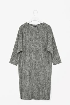 cos Melange jersey dress