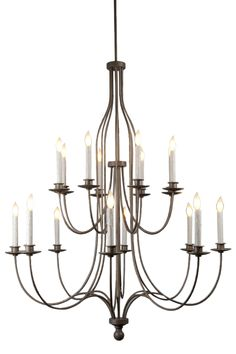 Buy Carrousel Double Tier Chandelier by Hammerton - Made-to-Order designer Chandeliers from Dering Hall's collection of Contemporary Transitional Chandeliers.