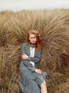 Hollie-May Saker Models the Pre-Fall Collections for Harpers Bazaar UK