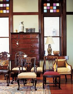 American and European antiques? Try Webster House in Kansas City.