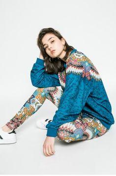 adidas Originals - Bluza Kimono Top, Adidas, Women, Style, Fashion, Swag, Moda, Women's, Fashion Styles