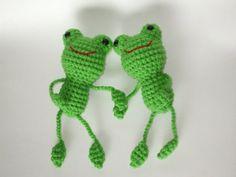Amigurumi Frog Crochet Frog Handmade Frog by AmiOffTheHooks, $15.00