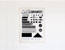 Geometry of Pasta Poster - Shape Ratio