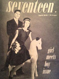 Seventeen Magazine / Cover / April 1946