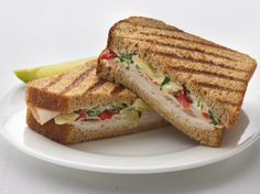 Healthified Turkey-Artichoke Panini