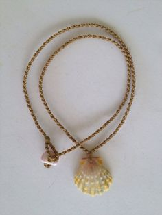 Polynesian roped sunrise shell necklace by SurferGirlJewelry, $160.00