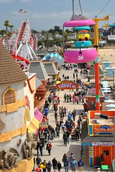 Budget Day Trips in the Bay Area and Beyond: Spinning at the Boardwalk!