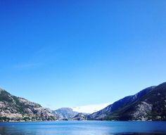 Spent a wonderful day on the fjord with the tourist information team! #kjenndinregion #regionstavanger #lysefjorden @rodnefjordcruise