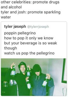 "yet my school is like ""WHO IS TWENTY ONE PILOTS I DONT LISTEN TO THEM BECAUSE THEY PROBABLY CUSS!"" and im like dude have you even listened to them because tyler is an angel"