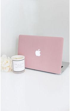 Laptop Decal Cover in blush - 13 Inch Macbook air