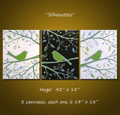 See shop for discount Original Abstract Painting by AmyGiacomelli, $245.00