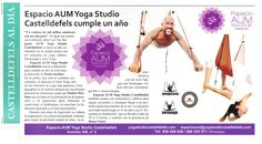 Yoga Aéreo Barcelona: Método AeroYoga® en Prensa, Éxito de Aum Yoga Studio en…