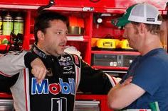 Dale Earnhardt Jr. says Tony Stewart will come back strong from injury So he knows a bit about what Tony Stewart is going through as Stewart misses this weekend's race at Watkins Glen and likely several more with a broken leg suffered during a sprint-car race Monday at Southern Iowa Speedway.