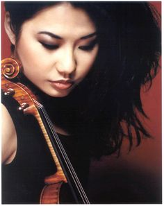 Sarah Chang. World class violinist.
