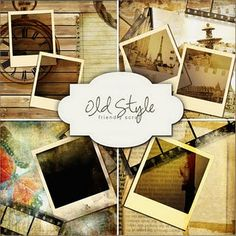 Free Digi Old Style Scrapbook Kit ~ Friendly Scrap Style Scrapbook, Scrapbook Paper, Scrapbook Kit, Vinyl Crafts, Paper Crafts, Mini Albums, Scrapbook Background, Photoshop Tips, Lightroom