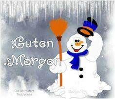 Guten Morgen Schneemann...