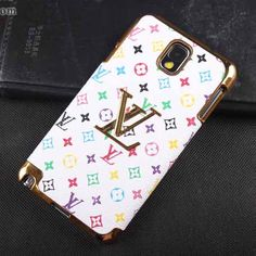 Louis Vuitton Galaxy Note 3 Case LV Cover Monogram White [NoteCase-0166] - $23.80 :   http://www.iphonesamsungcases.com/